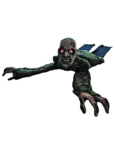 Morris Costumes Animated Crawling Zombie Prop -