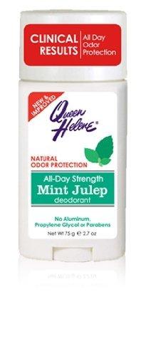 QUEEN HELENE Mint Julep Deodorant Stick 2.7 oz (Pack of 6) -
