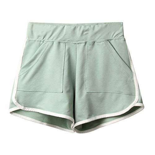 Benficial Women Summer Sport Casual Shorts Beach Short Pants 2019 Summer New (Croft And Barrow Womens Elastic Waist Pants)