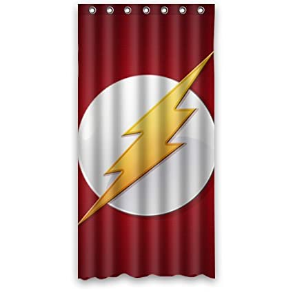 DC Comic The Flash Shower Curtain 36 X 72 Click Here Four Size Perfect Deco Your Bath Amazoncouk Kitchen Home