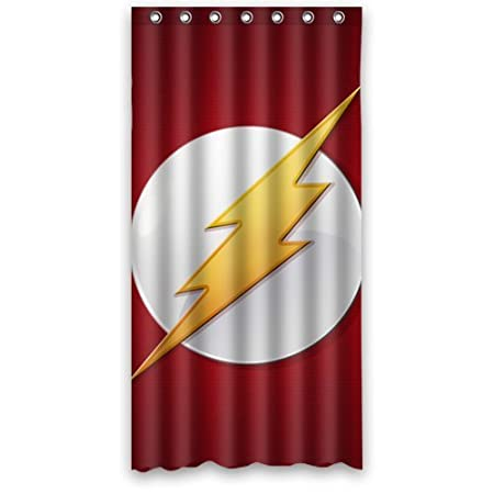 DC Comic The Flash Shower Curtain 36quot X 72quot Click Here Four Size