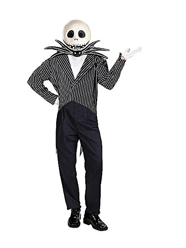 Best Jack Skellington Costume (Men's Deluxe Jack Skellington Costume)