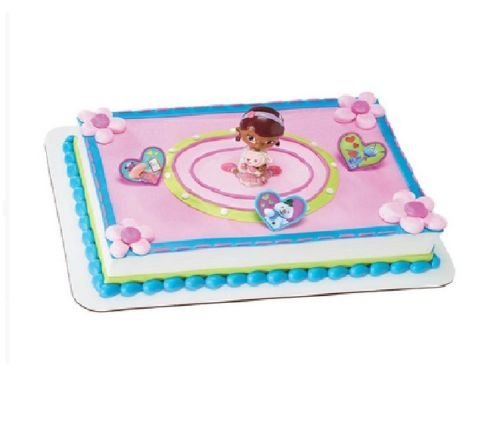 CakeDrake DOC McSTUFFINS Lambie Chilly Stuffy Hallie Party CAKE TOPPER Decorating Kit Set for $<!--$9.76-->