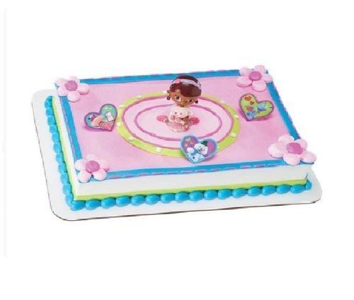CakeDrake DOC McSTUFFINS Lambie Chilly Stuffy Hallie Party CAKE TOPPER Decorating Kit Set]()