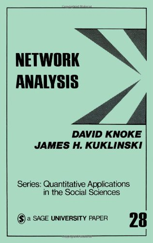 Network Analysis (Quantitative Applications in the Social Sciences)