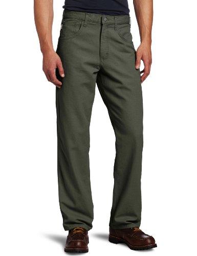 - Carhartt Men's Flame Resistant Canvas Pant,Moss,38 x 32