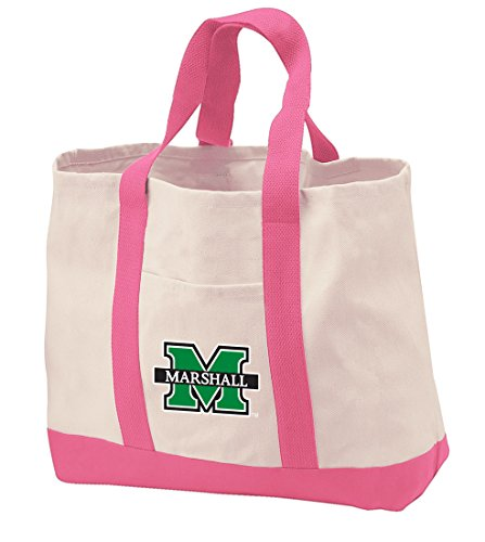 Marshall University Tote Bags Natural Cotton Marshall University Tote ()