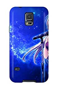 High-quality Durability Case For Galaxy S5(night Stars Brown Game Cg Nanairo Kouro Mikeou)
