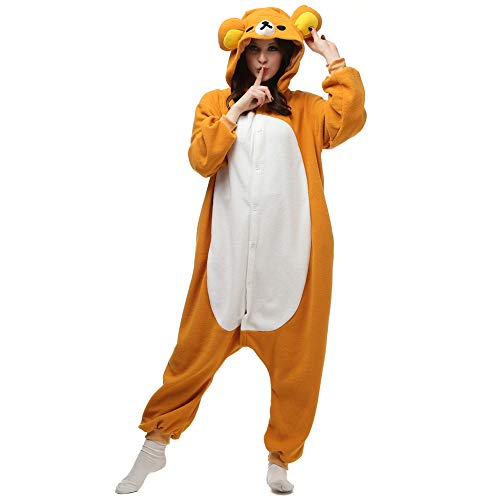 Adult Onesies Bear Onesie Teen Women Men Animal Pajamas Cosplay]()