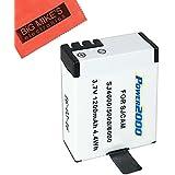 Battery for SJCAM SJ4000, SJ5000, SJ6000, and GeekPro Cameras