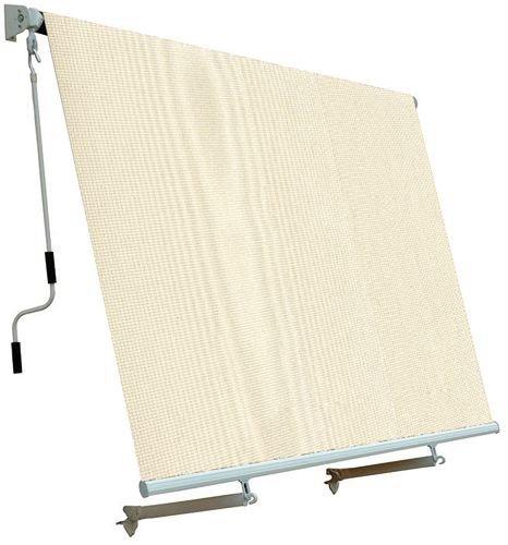 Tenda Da Sole Per Balcone Con Sistema A Caduta Colore Ecru 250x250