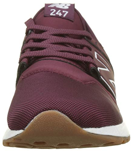 nb 247v1 Hj Rouge New Burgundy Balance Homme white Baskets U7FqX