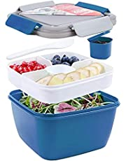 Shopwithgreen 52 OZ to Go Salad Container