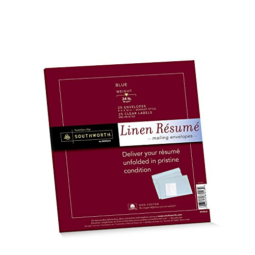 Southworth Linen Résumé Envelopes, 9