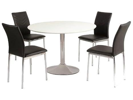 Tavolo Da Pranzo Rotondo : Jadella flavio tavolo da pranzo rotondo diametro cm piano