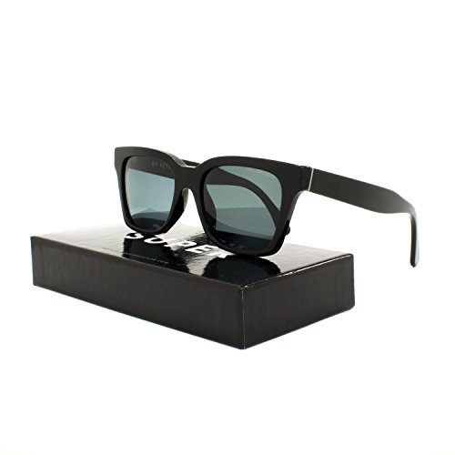 RETROSUPERFUTURE Super America Sunglasses SUBN4 Black Frame Polarized Zeiss - America Sunglasses Super