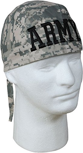 Military Biker Headwrap Cotton Do-Rag ()