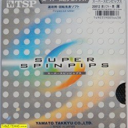 TSPスーパーSpinpips – Short Pips Table Tennisラバー 1.0mm - 1.3mm ブラック B01HFIVH6U