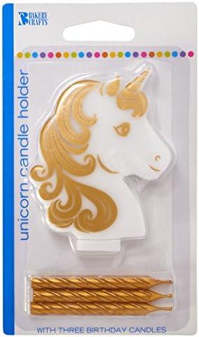 unicorn birthday unicorn party unicorn unicorn candle holder unicorn decor Unicorn Candle unicorn birthday cake