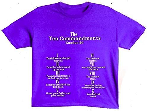 5e7566b68 Christian T-shirt/Bible Verse/Religious T-shirt For Men and Women/Religious  Gift/Jesus Gift/Pastor Gift/Church Gift/(The Ten Commandments)