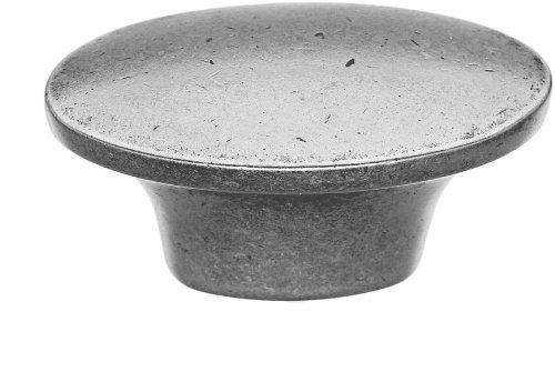 Top Knobs M1235  Dakota Knob Pewter - 1 1/2' Modern Knob