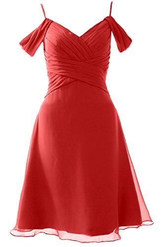 Off MACloth Party Bridesmaid Shoulder Rot Formal Wedding Short Dress Gown the Elegant 554WqTpnrR