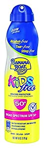 Banana Boat Kids Sport Tear-Free, Sting-Free Broad Spectrum Sunscreen Lotion