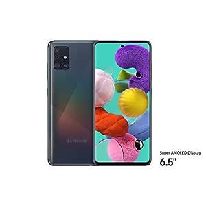 Samsung Galaxy A51 Dual SIM, 128GB, 6GB RAM, 4G LTE Black (UAE Version)