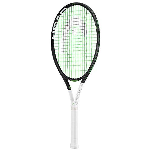 HEAD IG Speed Kids Tennis Racquet - Beginners Pre-Strung Head Light Balance Jr Racket, 26 (Racquet Head)