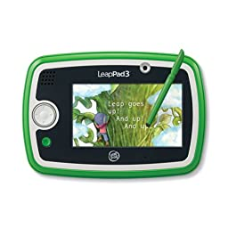 LeapFrog LeapPad3 Kids\' Learning Tablet, Green