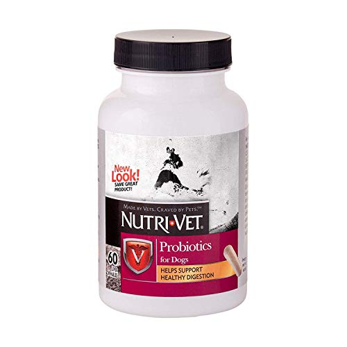 Nutri-Vet Soft Chew Probiotic for Dogs, 60 Count