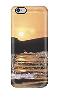 [cvOjXJy6675vnTub] - New Tail In The Sunset Big Whale Out Water Light Acvatic Ocean Animal Fish Protective Iphone 6 Plus Classic Hardshell Case