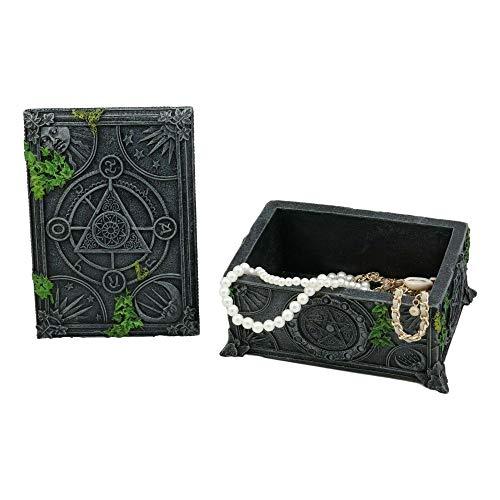 inilobox Celestial Moon Astrology Pentagram Tarot Card Deck Holder Jewelry Box F3 by inilobox (Image #3)