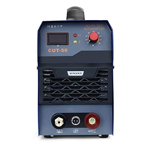 SUNGOLDPOWER 50A Air Plasma Cutter Inverter DC Digital Display IGBT Portable With Accessories Welding Machine Inverter Cutting 50Amp 110V and 220V by SUNGOLDPOWER (Image #2)