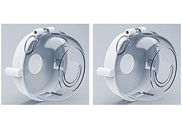 Cubierta Protectora Universal Del Interruptor De La Estufa De Gas SJHO - Bloqueo De Protección De Seguridad Para Niños,2Pack: Amazon.es: Hogar
