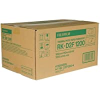 Fujifilm RK-D2T1200 4x6 Dye Sub Media for the ASK-2000/2500 Dye Sublimation Digital Photo Printer, 2 Rolls, 1200 Total Prints
