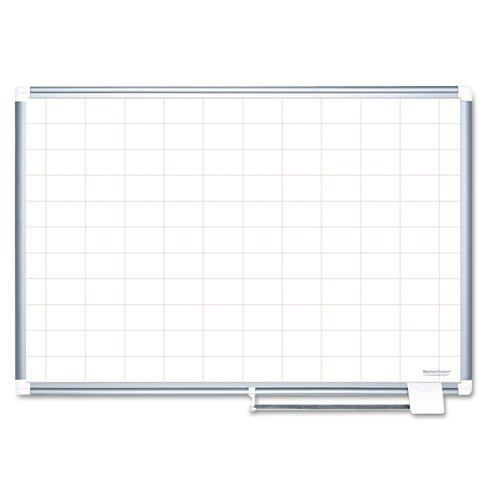BVCMA0593830 - MasterVision 2 x 3 Grid Gold Ultra Magnetic Steel
