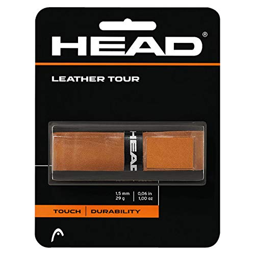 HEAD Leather Tour Tennis Racket Replacement Grip - Racquet Handle Grip Tape