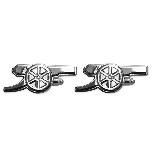 Arsenal Football Club Official Soccer Gift Chrome Executive Cufflinks