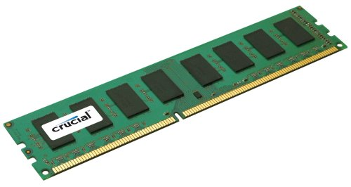 P67 Chipset - Crucial 2GB Single DDR3 1066 MT/s (PC3-8500) CL7 Unbuffered UDIMM 240-Pin Desktop Memory Module CT25664BA1067