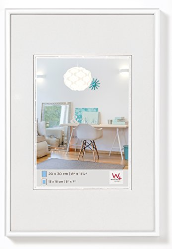 Price comparison product image Walther Design Kv030W Lifestyle Picture Frame,  8 X 11.75 Inch (20 X 30 Cm),  White