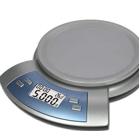 Design Waage Kuchenwaage Buro Thermometer Timer Tara Modell Elecsa