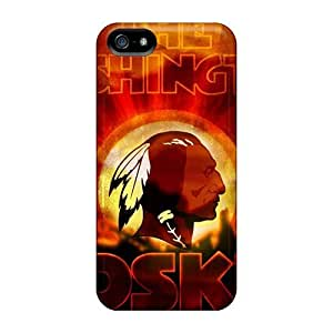 L.M.CASE Idh1141gRWY Protective Case For Iphone 5/5s(washington Redskins)