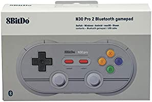 6 Edition Mcbazel 8Bitdo N30 Pro 2 Wireless Gamepad With Mcbazel Storage Bag,Bluetooth Controller For Windows//Android//macOS//Steam//Switch