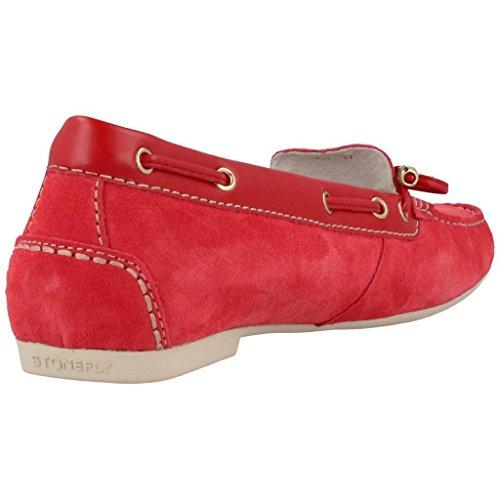 Mocasines para mujer, color Rojo , marca STONEFLY, modelo Mocasines Para Mujer STONEFLY C5208 Rojo Rojo