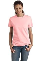Hanes Nano T Women S T Shirt Pale Pink Xx Large