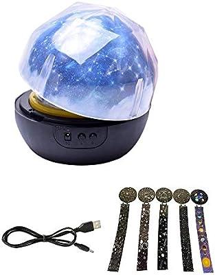 Contever Proyector Bebe lámparas Estrellas, Lámpara de luz ...