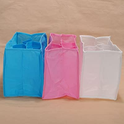 Baby Diaper Nappy Changing Storage Bag 7 Liner Lining Divider.