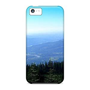 TYHde Excellent ipod Touch4 Case Tpu Cover Back Skin Protector The Valley Below ending Kimberly Kurzendoerfer