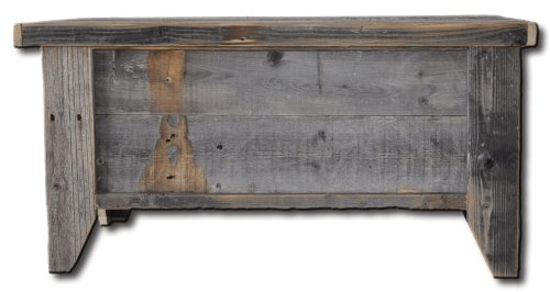 Rustic Barn Wood Trunk